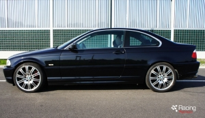 BMW E46 328i turbo side view