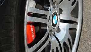 BMW E46 328i turbo wheel