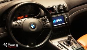 BMW E46 M3 ESS Supercharger interior